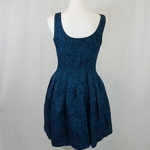 Jack by BB Dakota Dresses - Jack by BB Dakota Blue Tapestry Dress 6
